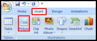Introduction of Clip Art and Picture in PowerPoint 2007