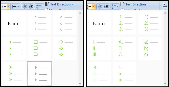 Introduction of List in PowerPoint 207