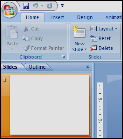 Introduction of Presentation Basic in PowerPoint 2007