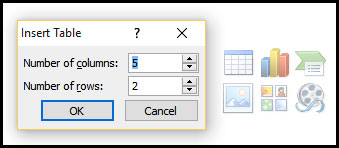 Introduction of Table in PowerPoint 2007