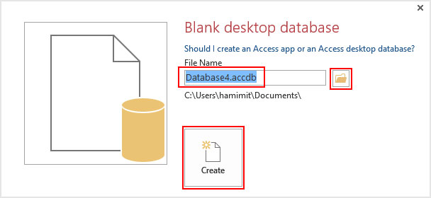 Create-Access-Blank-Database