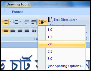 Introduction of Indentation and Line spacing in PowerPoint 2007