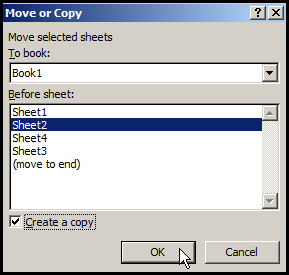 Copy worksheet in Excel 2007