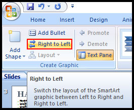 SmartArt Graphic Shape reorder in PowerPoint 2007