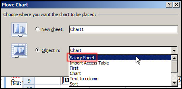 Select Sheet for move chart in Excel 2007