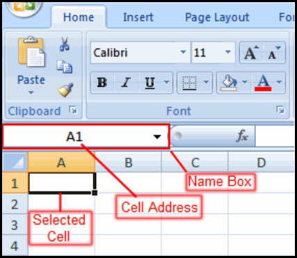 Using cell references in Excel 2007