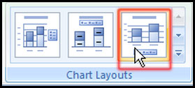 Change Chart Layout in Excel 2007