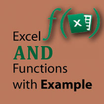 Excel AND Function tutorial with example featured image
