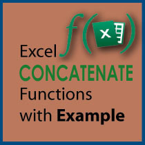 Excel Concatenate Function Featured Image