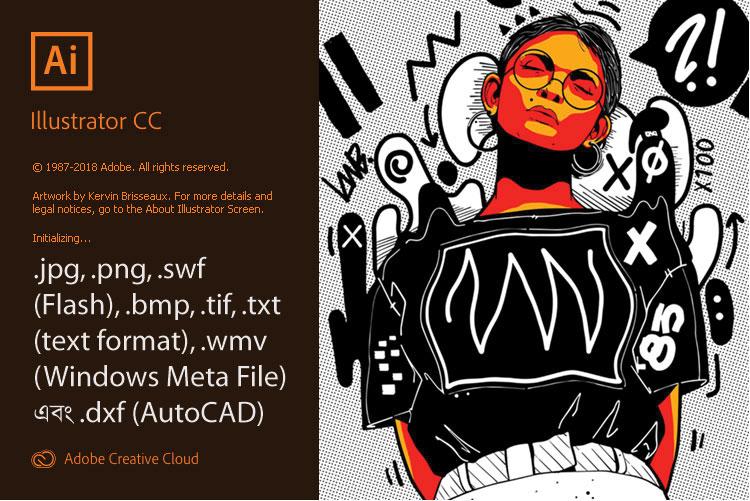 Adobe Illustrator CC Supported File Format for Export Bangla Tutorial