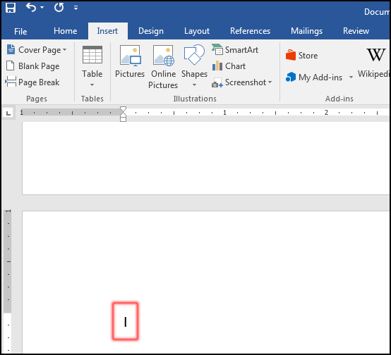 Insert Page Breaks - MS Word 2016 Bangla Tutorial