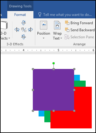 Align Order & Group Object [Result for Bring to Front in MS Word 2016 Bangla Tutorial]