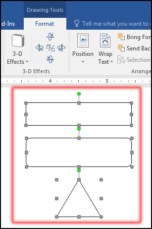 Aligned Object in MS Word 2016 Bangla Tutorial