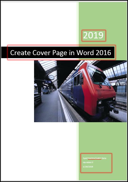 Edit Template in MS Word 2016 Bangla Tutorial