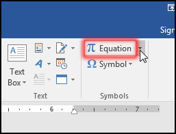 Insert & Edit Equation in MS Word 2016 Bangla Tutorial