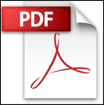 Portable Document Format [PDF] icon