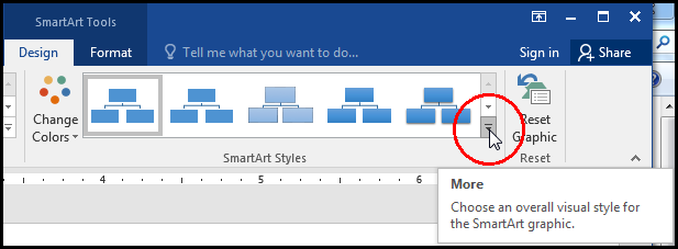 Insert & Use SmartArt [Change SmartArt Style More in MS Word 2016 Bangla Tutorial]