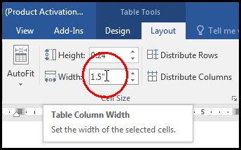 Move & Resize Table [Fixed Column Width in MS Word 2016 Bangla Tutorial]