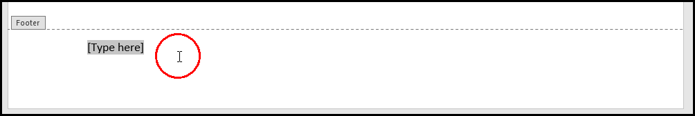 Show Footer Text Area in MS Word 2016 Bangla Tutorial
