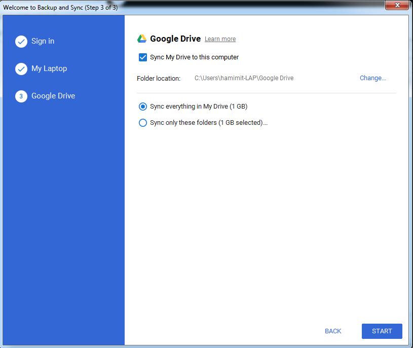 গুগল ড্রাইভ সিঙ্কনাইজ করা [Google Drive Sync]