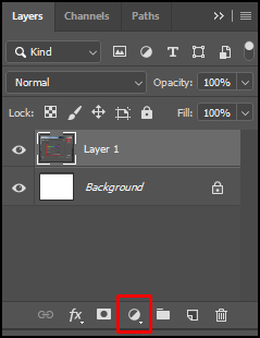 Adjustment Layer in Adobe Photoshop CC