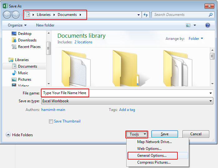 How-to-save-excel-2016-file-with-password-3