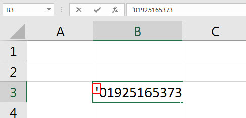 How-to-add-0-in-front-of-a-number-in-Excel-image-1